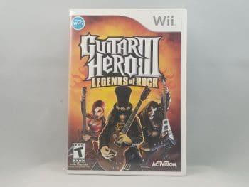 Nintendo Wii Guitar Hero III Legends Of Rock