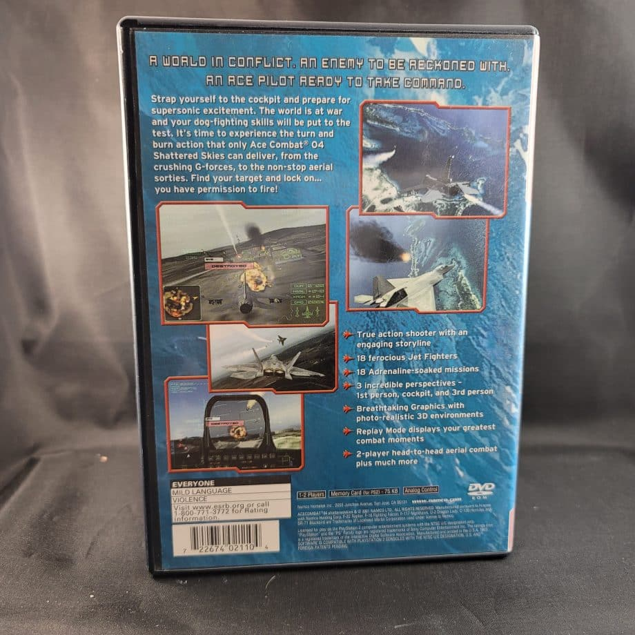 Ace Combat 4 Shattered Skies