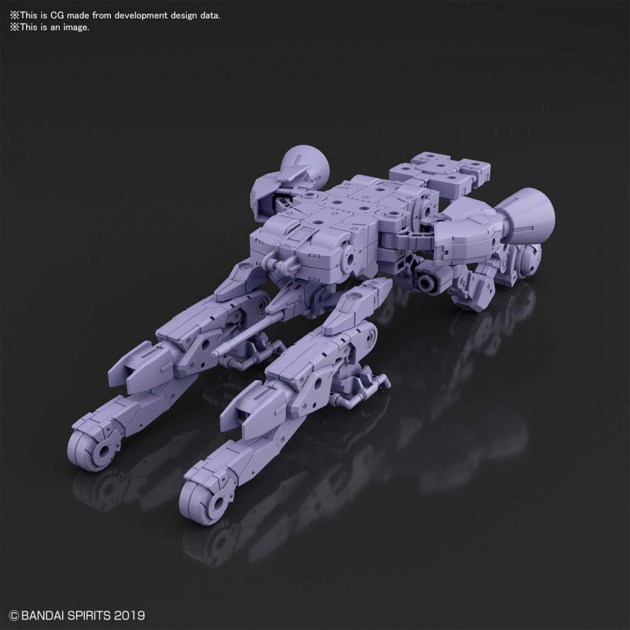 Extended Armament Vehicle Space Craft Ver. Purple Pose 2