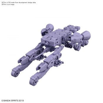 Extended Armament Vehicle Space Craft Ver. Purple Pose 1