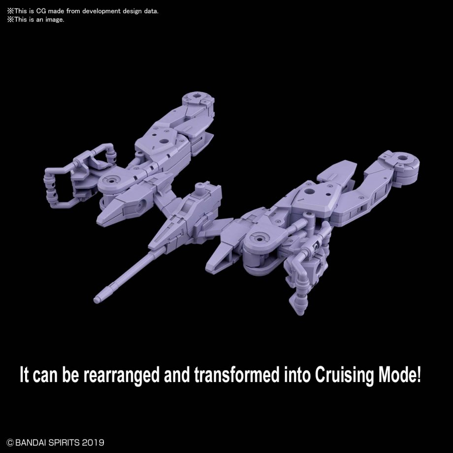 Extended Armament Vehicle Space Craft Ver. Purple Pose 3