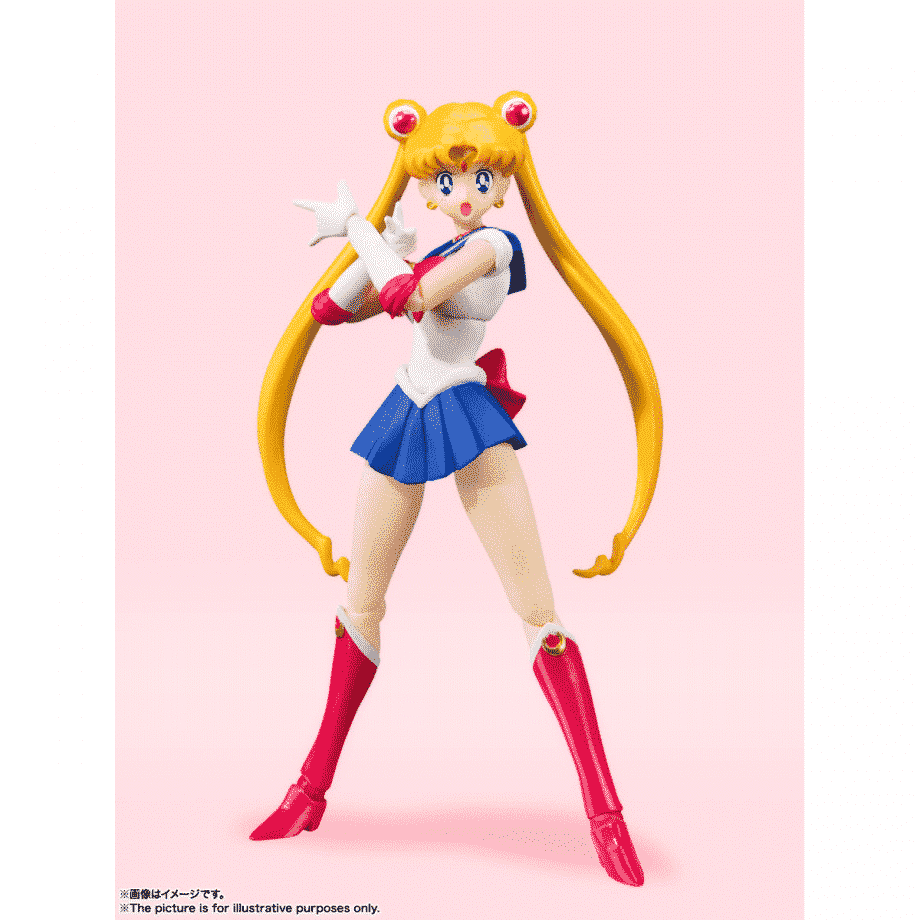 Sailor Moon Animation Color Edition S.H. Figuarts Pose 1