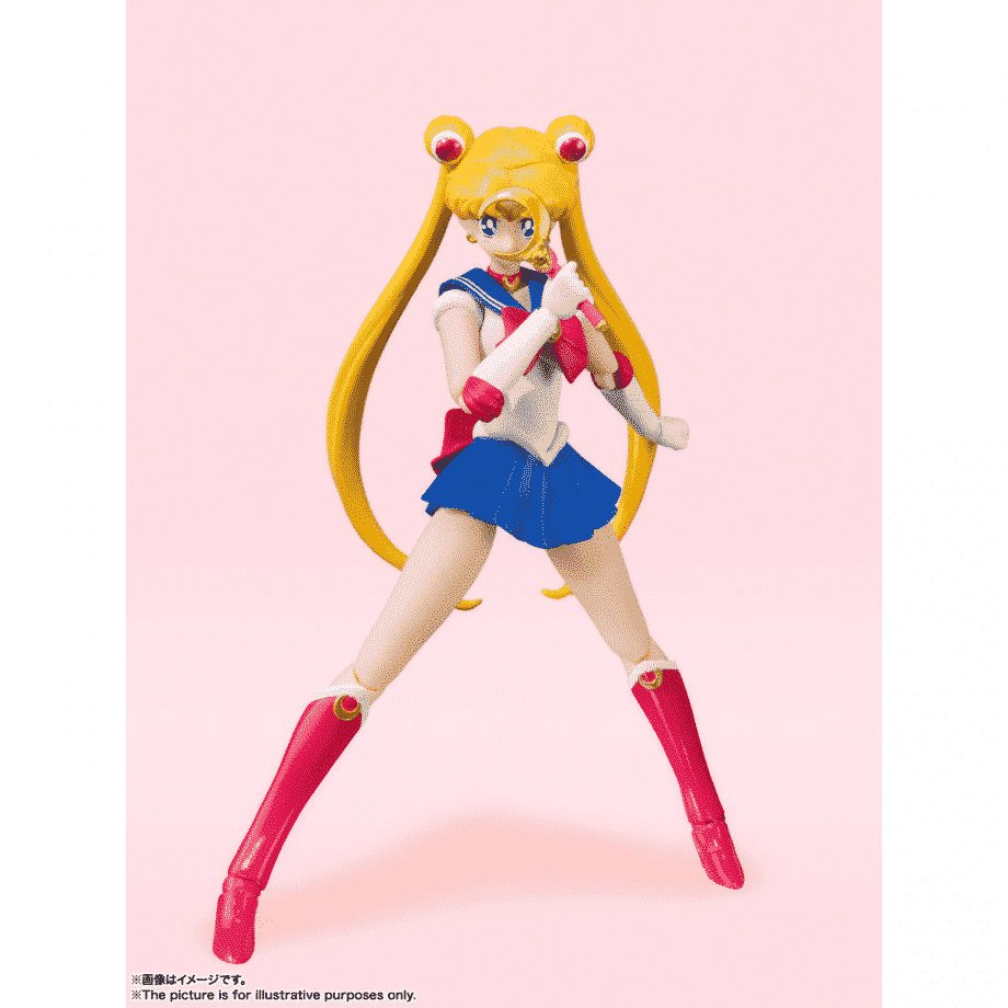 Sailor Moon Animation Color Edition S.H. Figuarts Pose 2