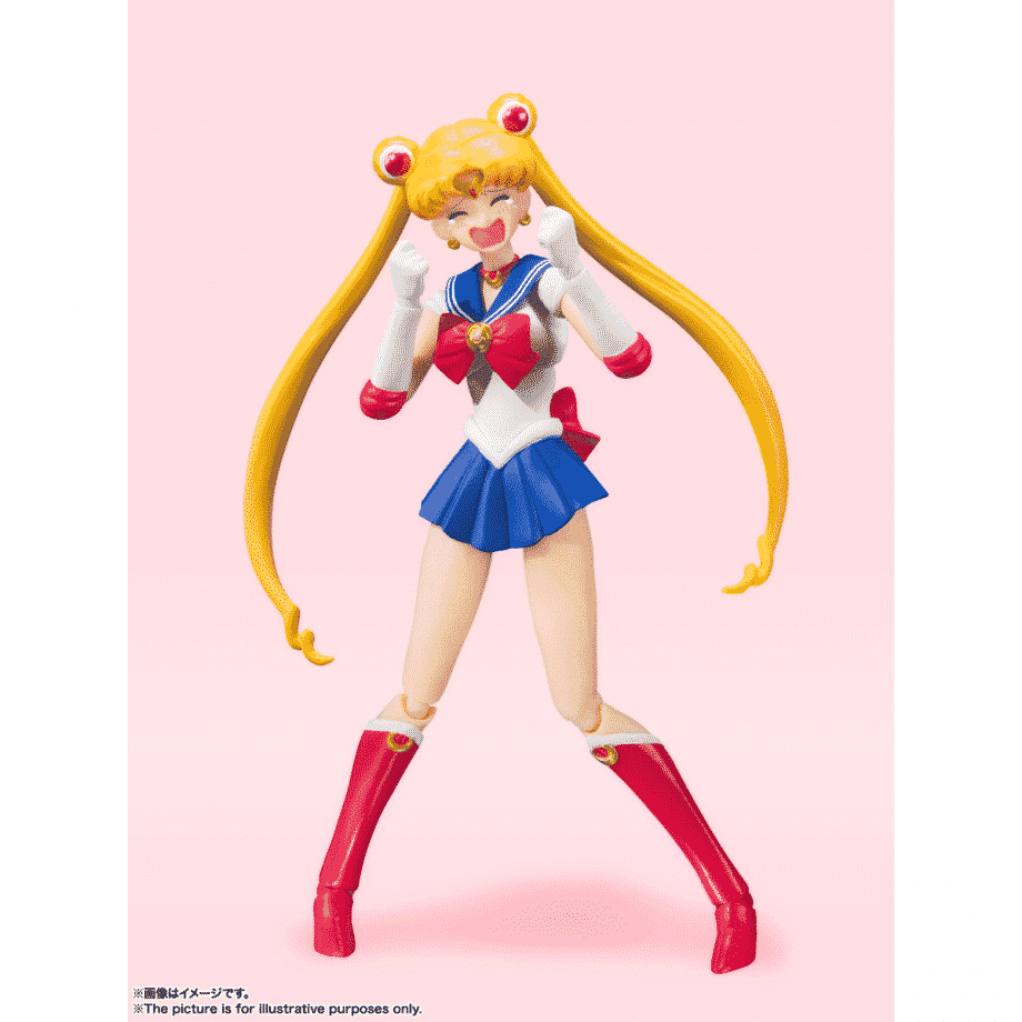 Sailor Moon Animation Color Edition S.H. Figuarts Pose 3