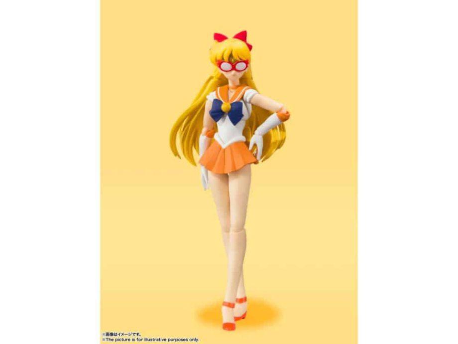 Sailor Venus Animation Color Edition S.H. Figuarts Pose 5