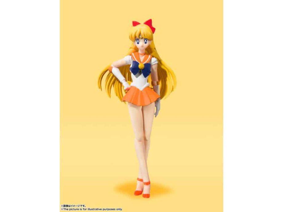 Sailor Venus Animation Color Edition S.H. Figuarts Pose 1