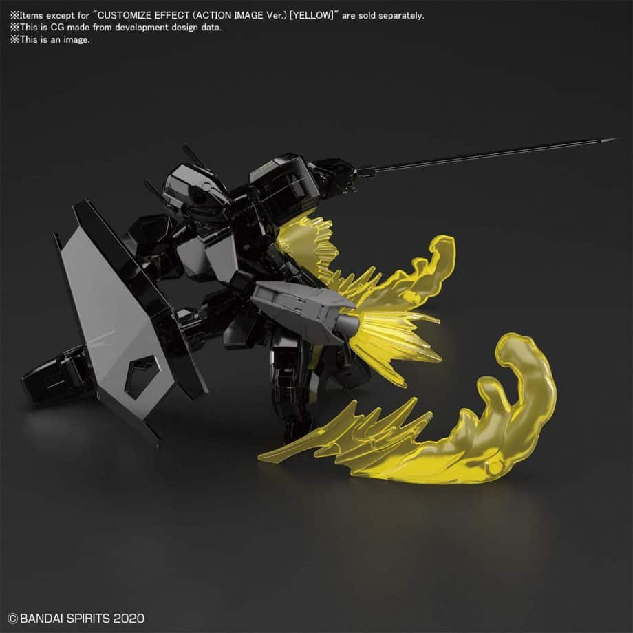 Customize Effect Action Image Ver Yellow Pose 4