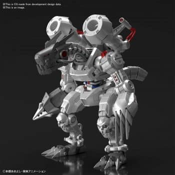 Machinedramon Amplified Figure-rise Kit Pose 1
