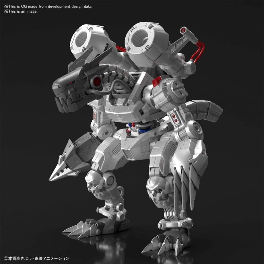 Machinedramon Amplified Figure-rise Kit Pose 1