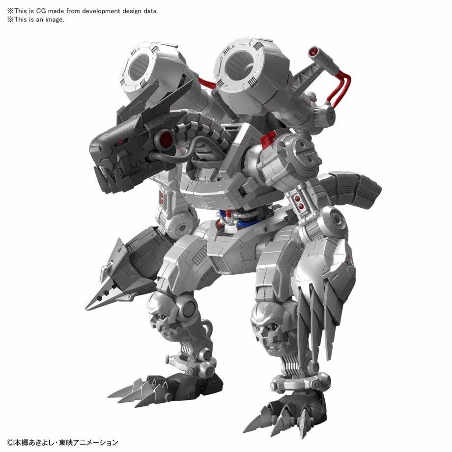 Machinedramon Amplified Figure-rise Kit Pose 2