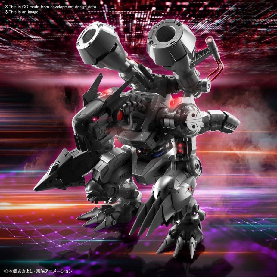 Machinedramon Amplified Figure-rise Kit Pose 3