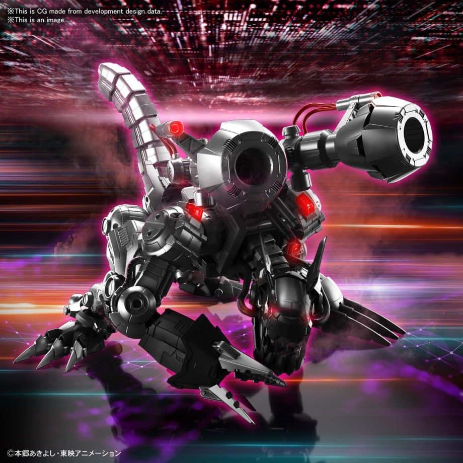 Machinedramon Amplified Figure-rise Kit Pose 4