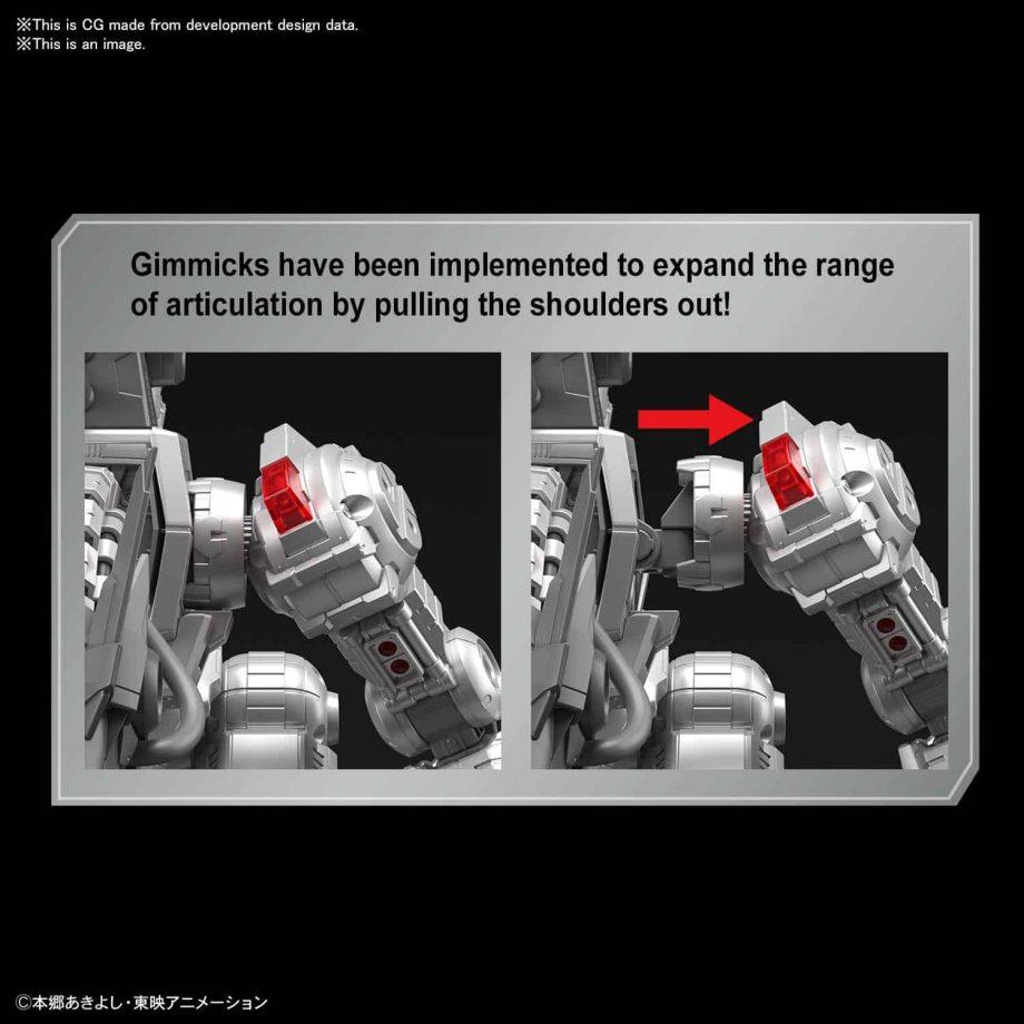 Machinedramon Amplified Figure-rise Kit Pose 5