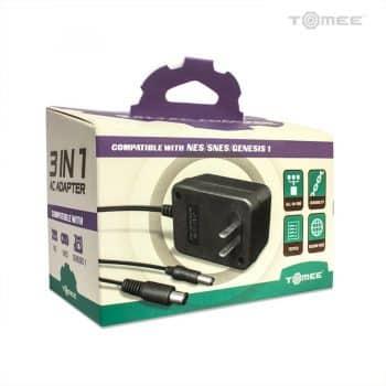 Universal AC Adapter For Genesis / Super NES / NES Box