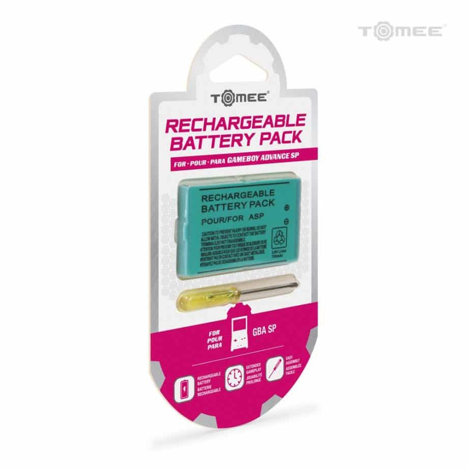 Rechargeable Battery Pack For Game Boy Advance SP Box