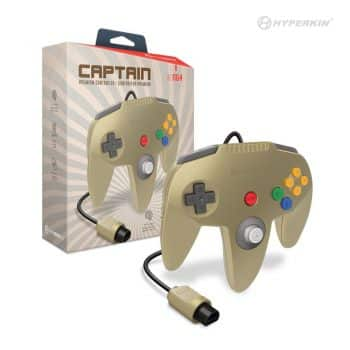 Hyperkin Premium Controller for N64 - Gold