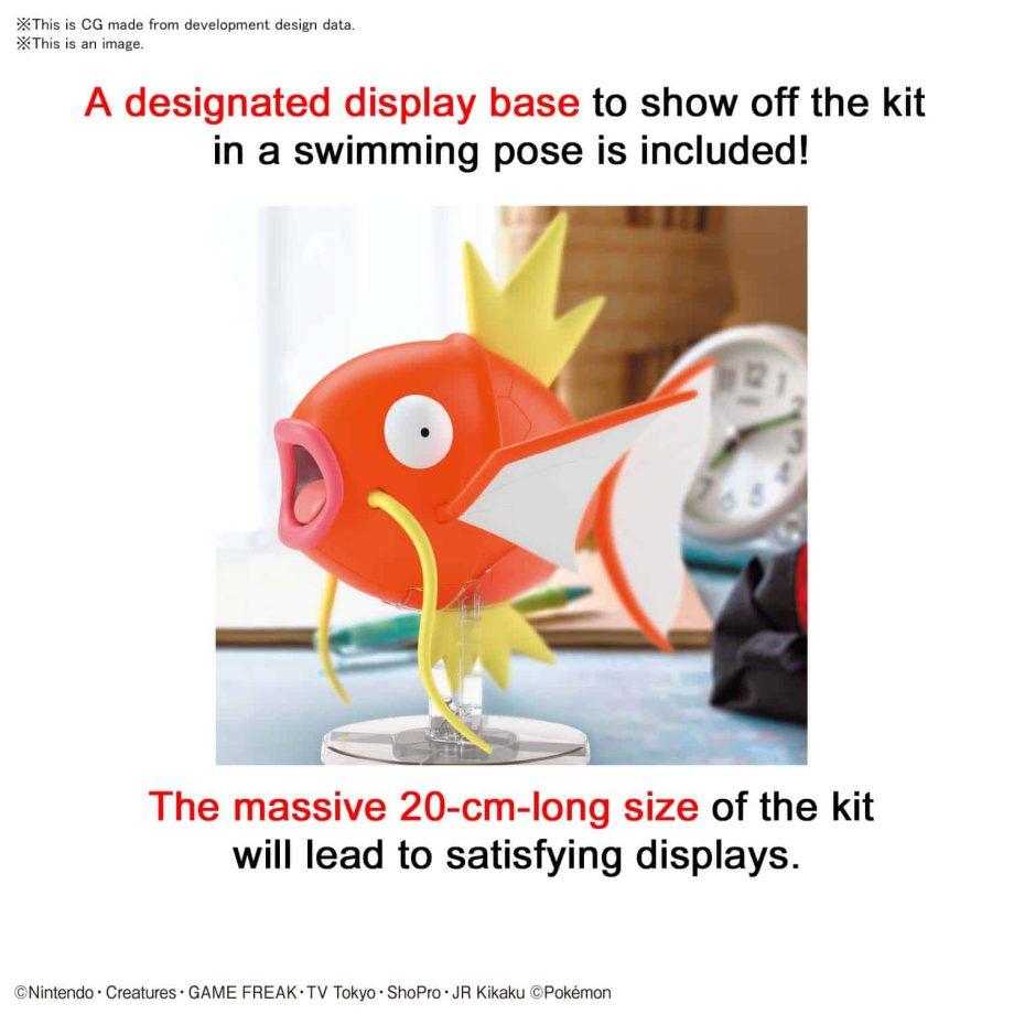 Pokemon Model Kit BIG Magikarp Pose 5