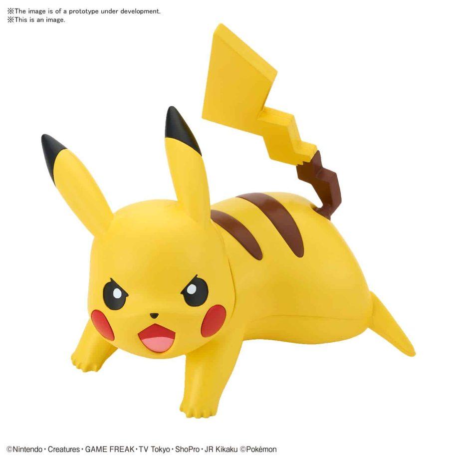 Pokemon Model Kit Quick!! Pikachu Battle Pose Pose 1