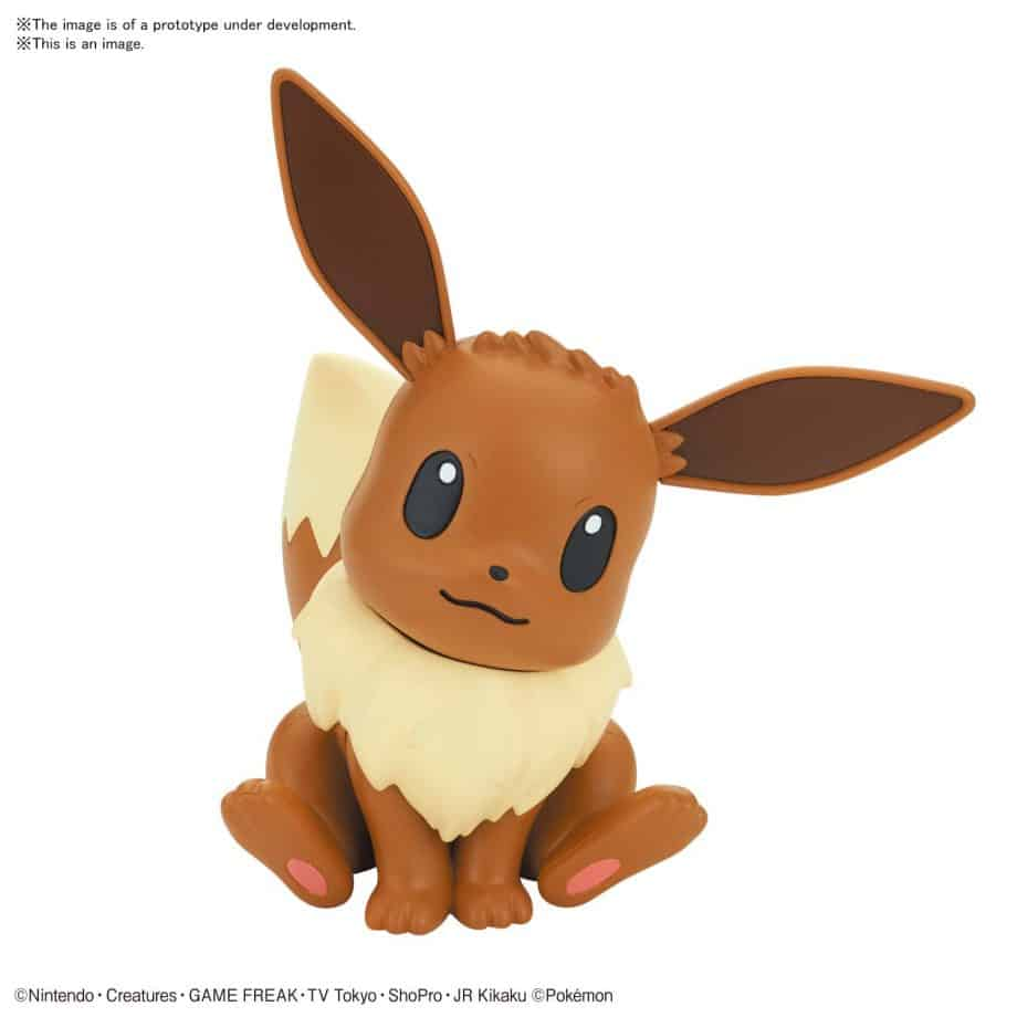 Pokemon Model Kit Quick!! Eevee Pose 1