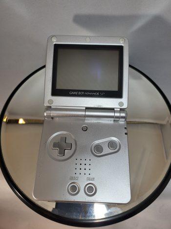 Game Boy Advance SP System Silver