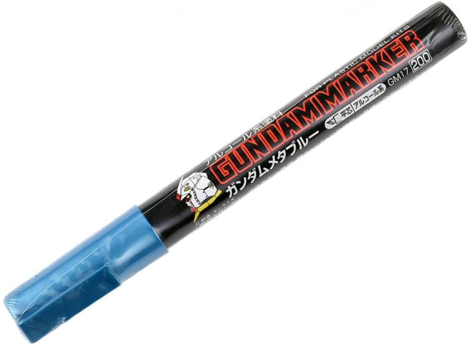 Gundam Marker Metallic Blue GM17