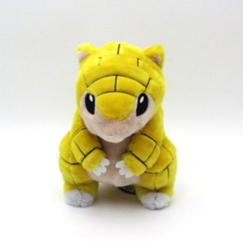 Sandshrew Plush and Pouch