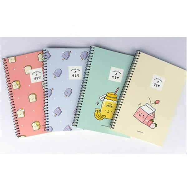 Convenience Store A4 Mini Unruled Notebook