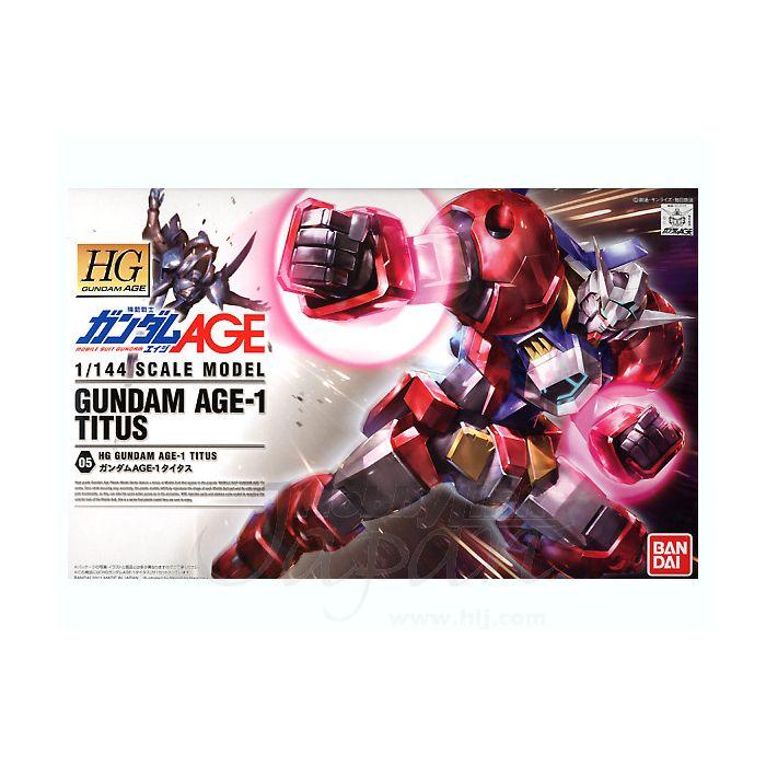 High Grade Gundam Age 1 Titus Box