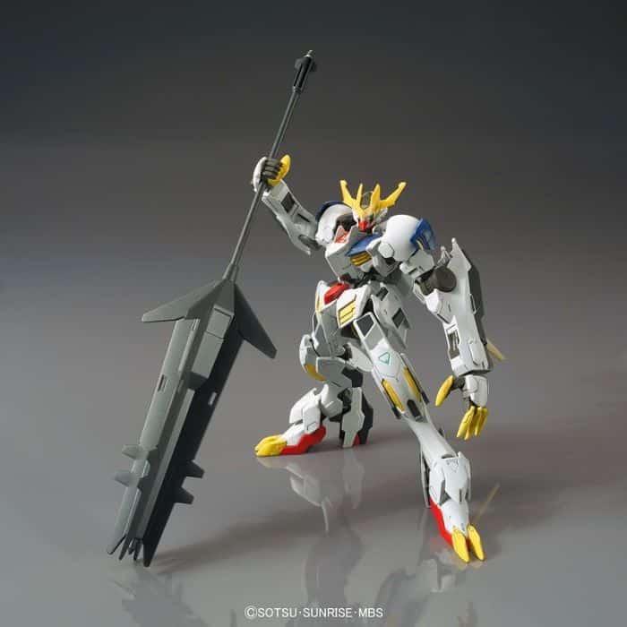 High Grade Gundam Babatos Lupus Rex Pose 2