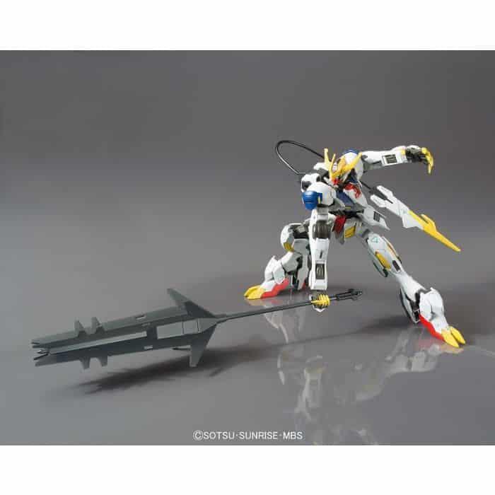 High Grade Gundam Babatos Lupus Rex Pose 3
