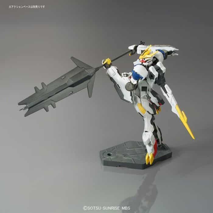 High Grade Gundam Babatos Lupus Rex Pose 5