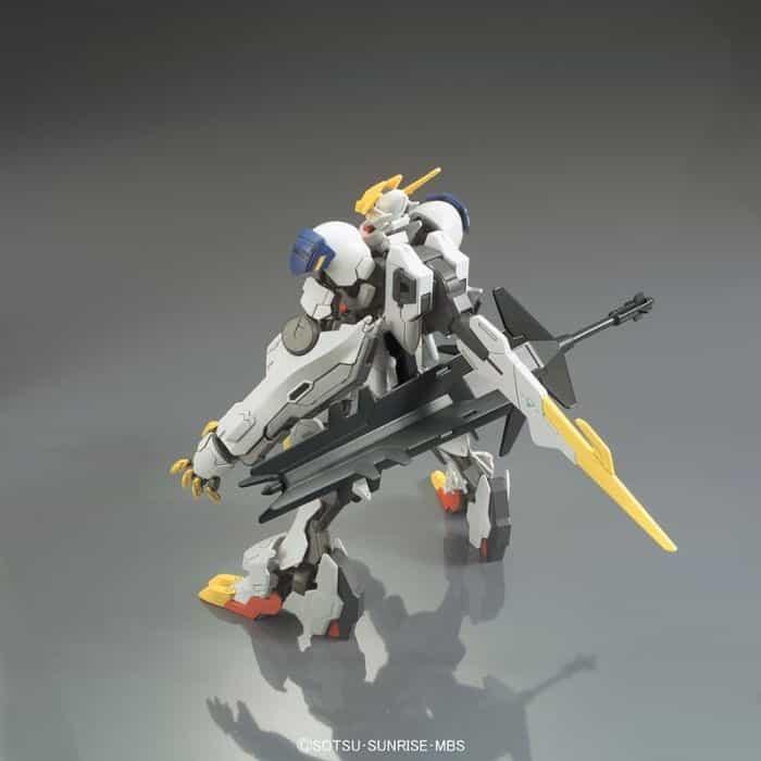 High Grade Gundam Babatos Lupus Rex Pose 6