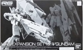 Gundam Universal Century 1/144 Real Grade HWS Expansion Set for V Gundam Box