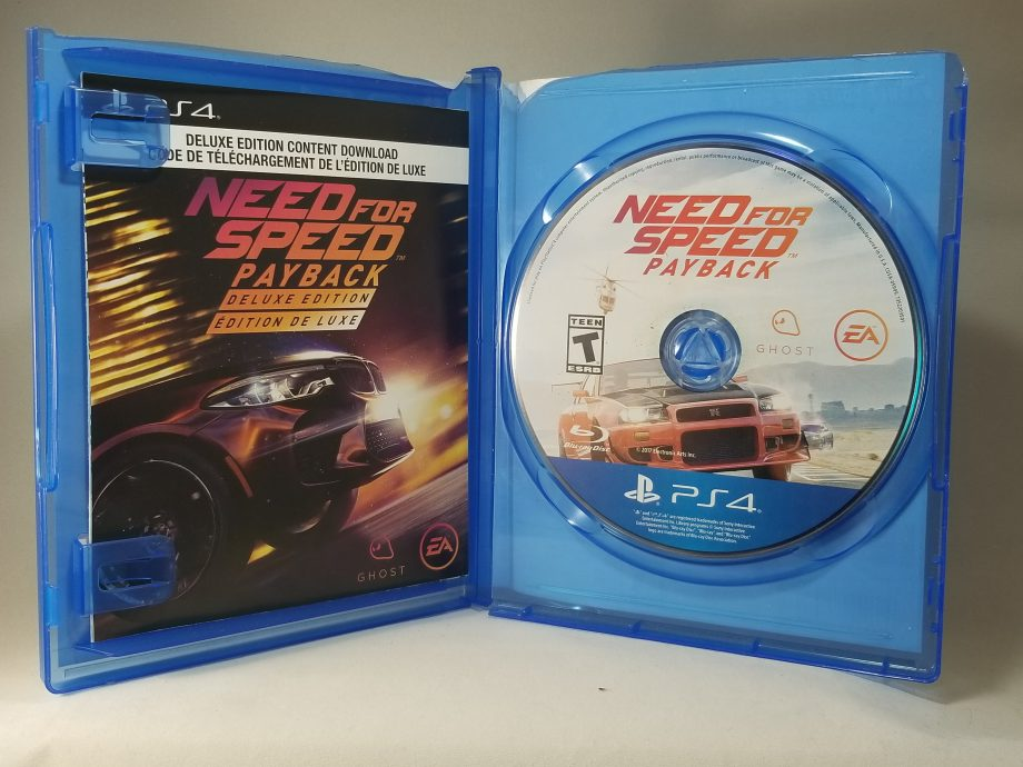 Need For Speed Payback Disc