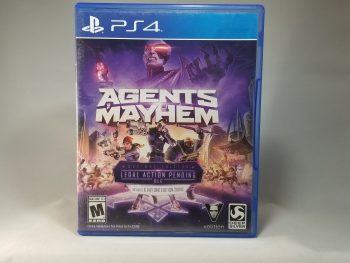 Agents Of Mayhem Front