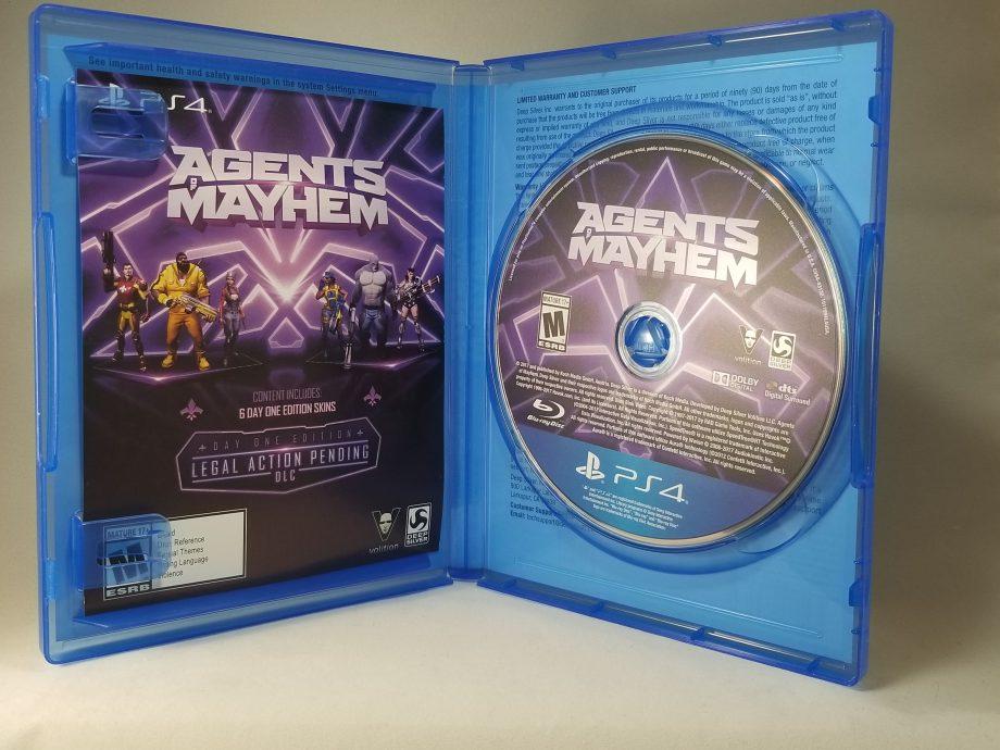 Agents Of Mayhem Disc