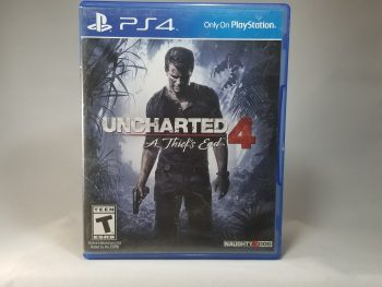 Uncharted 4 A Thief's End Front