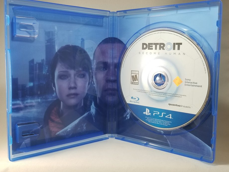 Detroit Become Human Disc