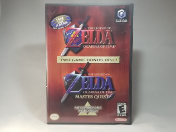 The Legend Of Zelda Ocarina Of Time Master Quest Front