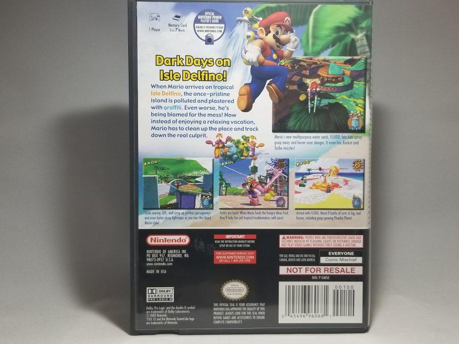 Super Mario Sunshine Back