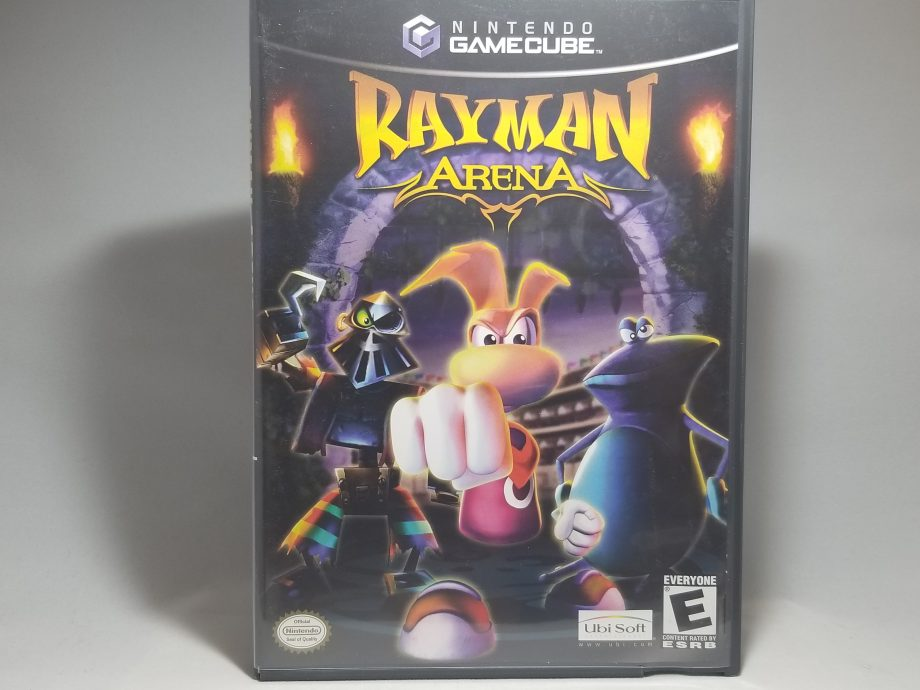 Rayman Arena Front