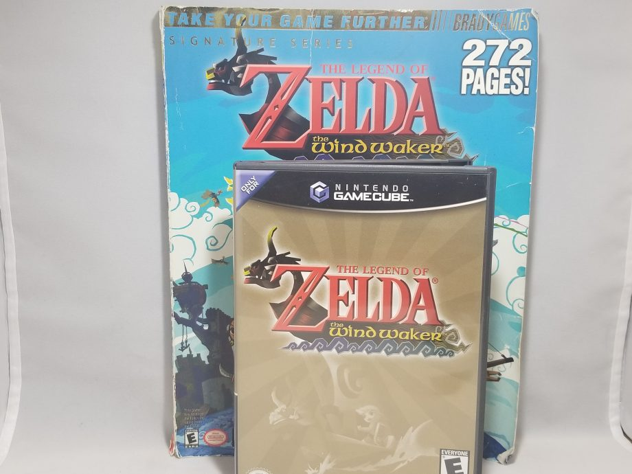 The Legend Of Zelda The Wind Waker & Strategy Guide Front