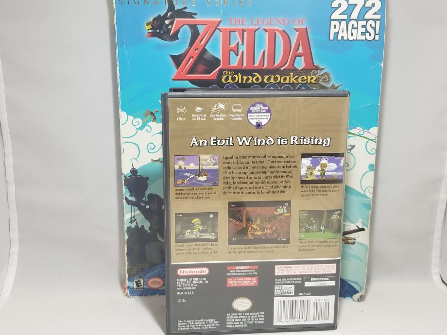 The Legend Of Zelda The Wind Waker & Strategy Guide Back