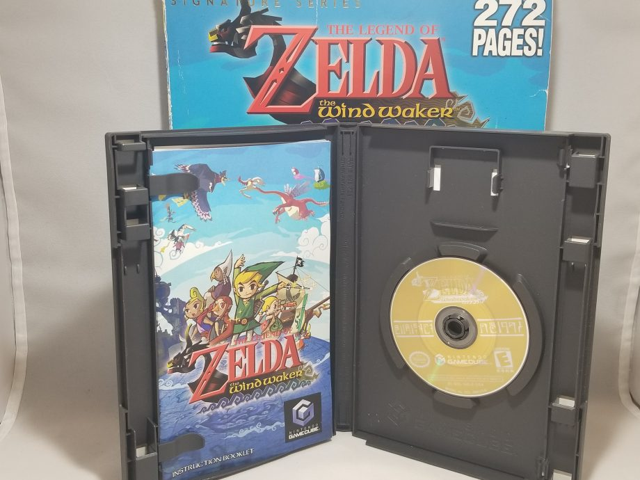 The Legend Of Zelda The Wind Waker & Strategy Guide Disc