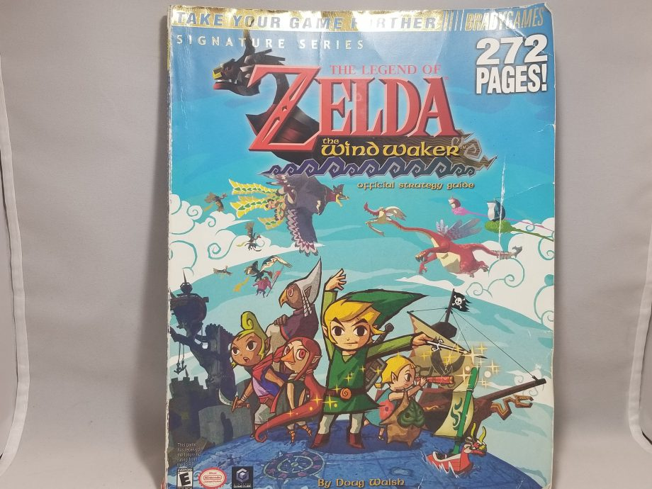The Legend Of Zelda The Wind Waker & Strategy Guide Pose 1