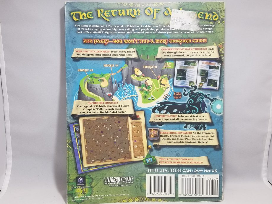 The Legend Of Zelda The Wind Waker & Strategy Guide Pose 2