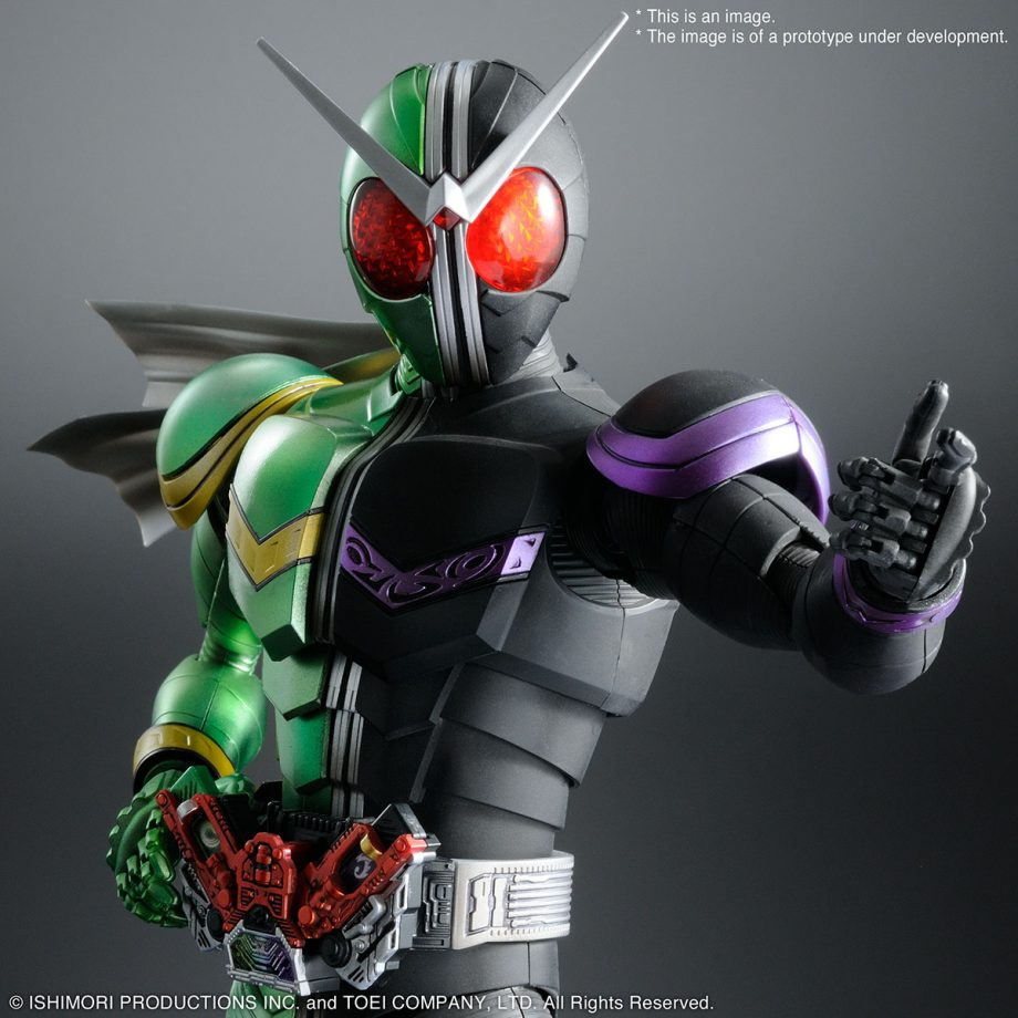 Master Grade Double Cyclone Joker Figure-rise Artisan Pose 1