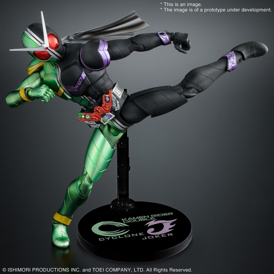 Master Grade Double Cyclone Joker Figure-rise Artisan Pose 4
