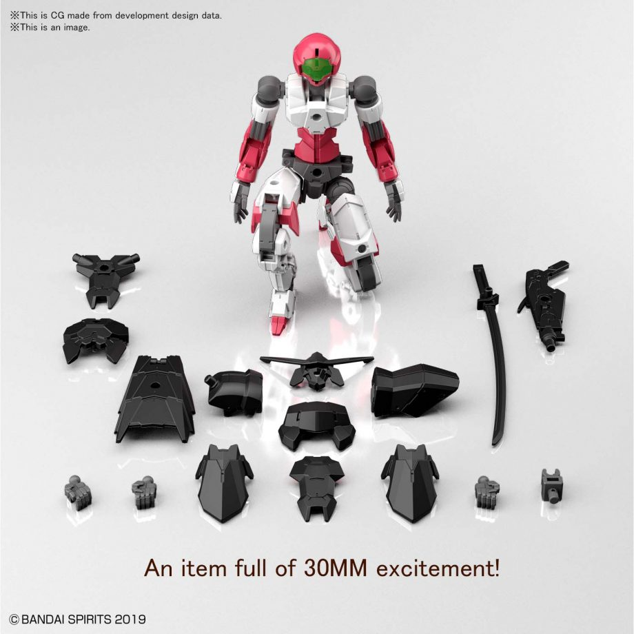 1/144 EXM-A9s Sengoku Type First Production Limited Custom Joint Set Pose 4