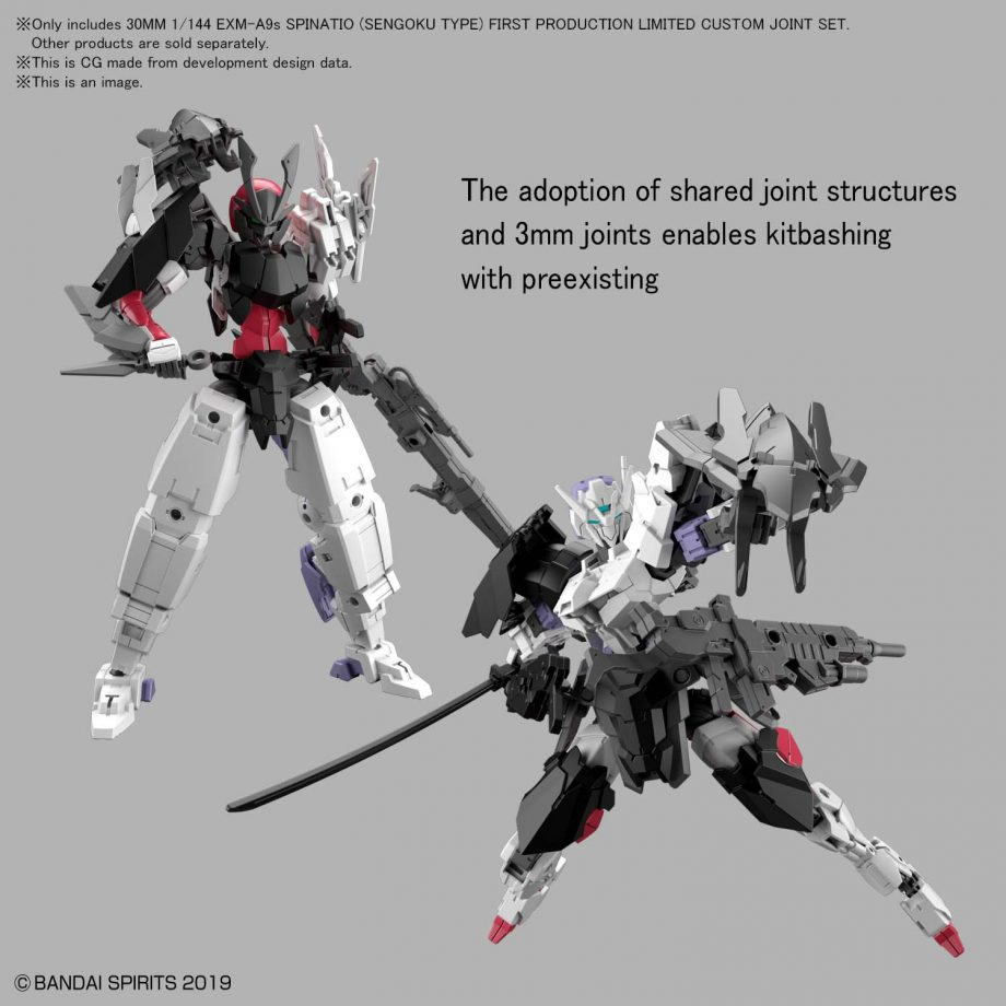 1/144 EXM-A9s Sengoku Type First Production Limited Custom Joint Set Pose 7